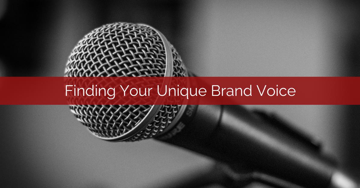 finding your unique brand voice fb no logo